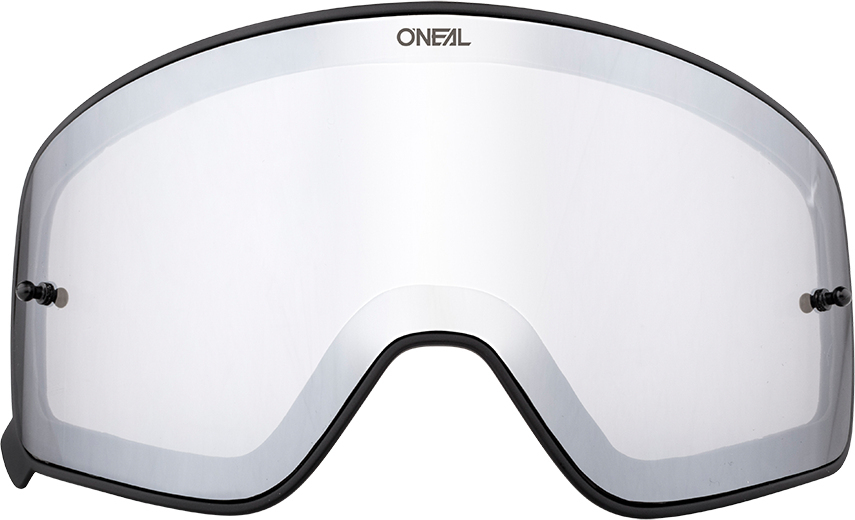 Oneal B-50 Visiera scura, argento