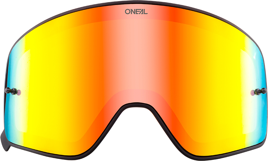 Oneal B-50 Visiera scura, rosso