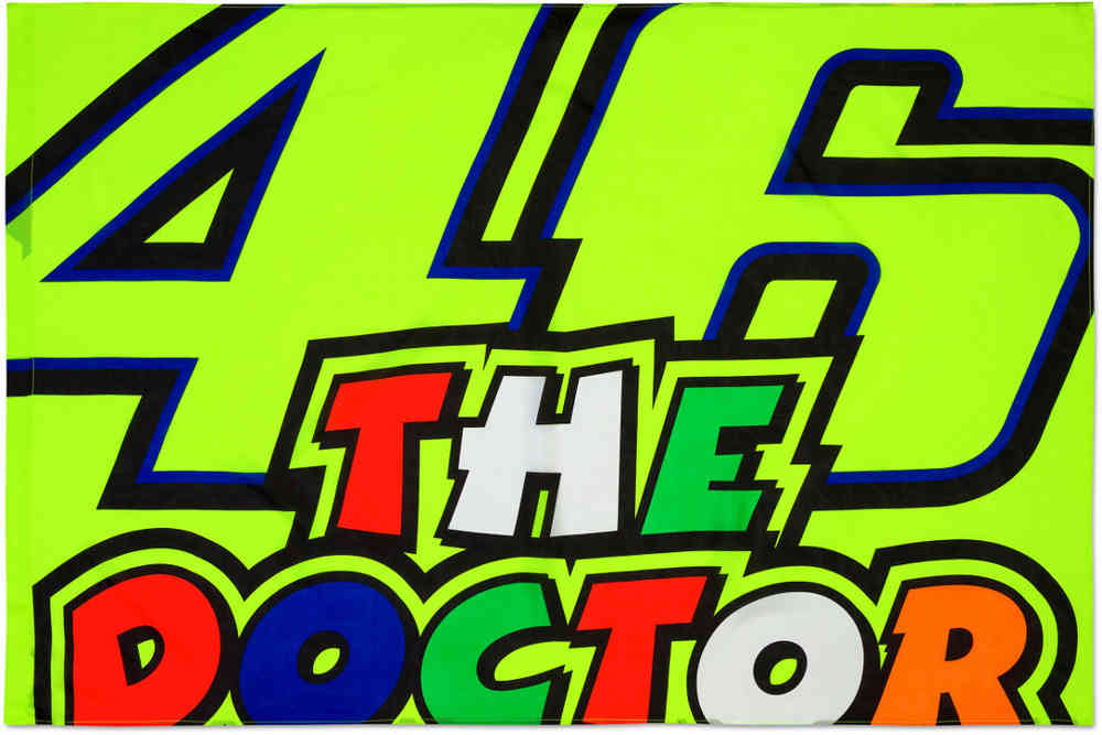 VR46 The Doctor Flagga