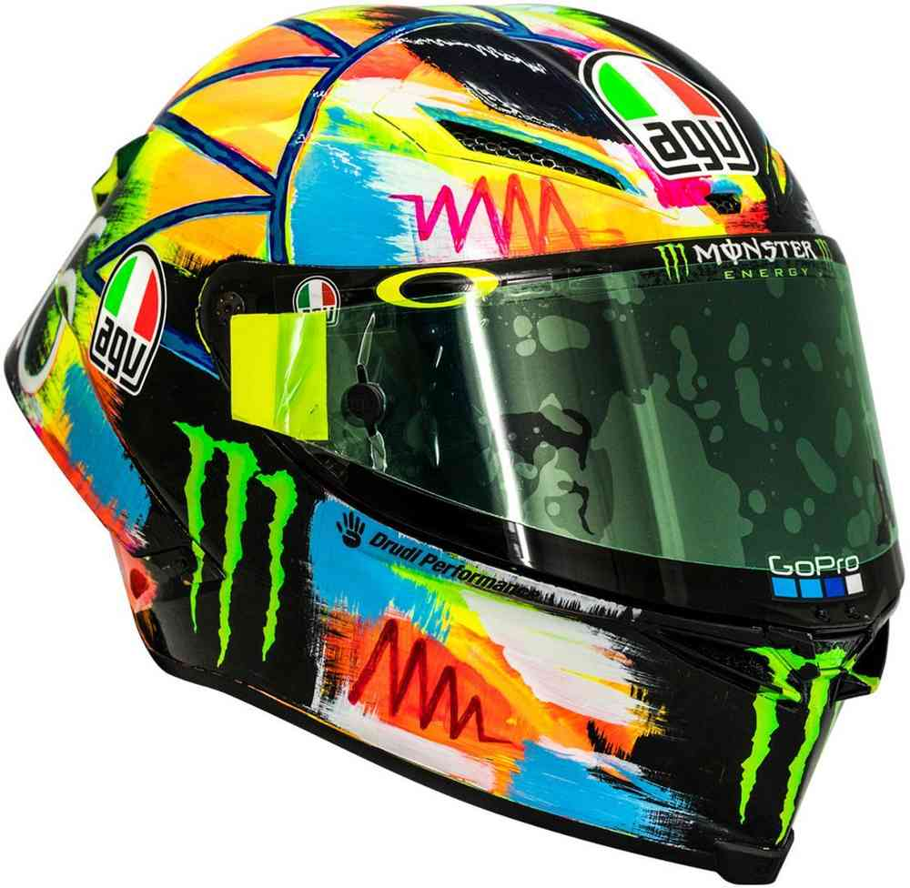 a17b84ec AGV Pista GP R Valentino Rossi Winter Test 2019 Limited Edition Carbon  Helmet ...