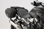 SW-Motech BLAZE saddlebag set - Black/Grey. Honda VFR800X Crossrunner (15-). 안장 가방 세트 블랙/그레이 - 혼다 VFR800X 크로스러너 (15-)