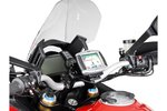 SW-Motech Support GPS QUICK-LOCK - Noir. Ducati Multistrada 1200 / S (10-14).