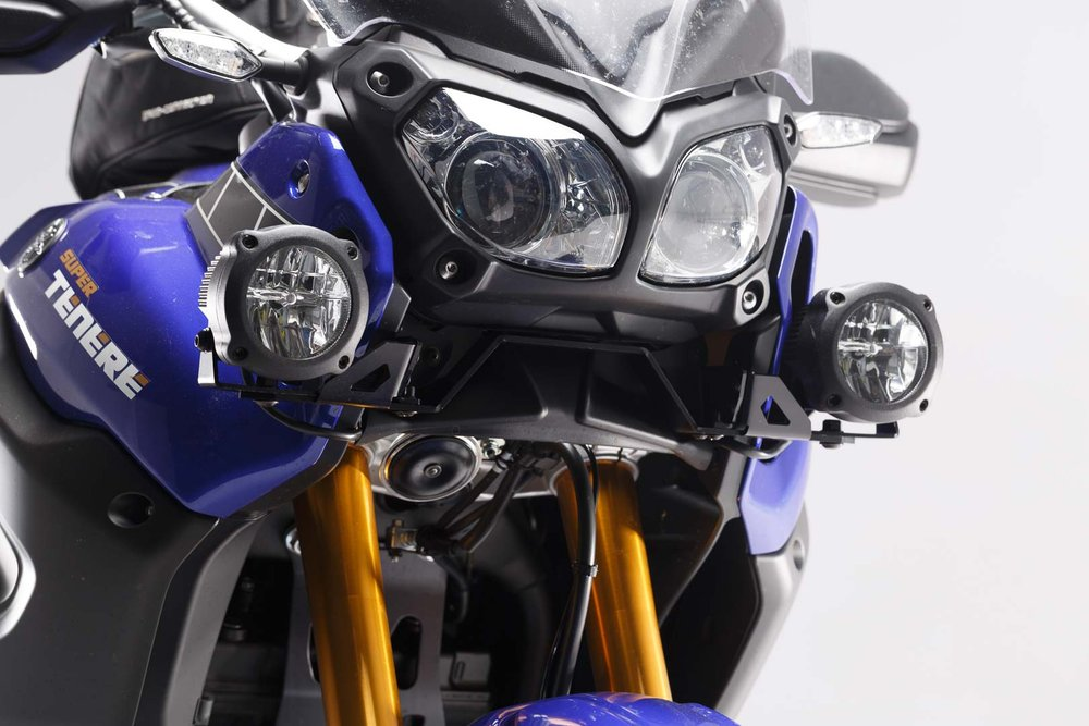 SW-Motech Light mounts - Black. Yamaha XT1200Z Super Ténéré (14-).