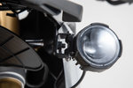 SW-Motech Light mounts - Black. BMW F 750 / 850 GS (18-). Lett monterer svart - BMW F 750 / 850 GS (18-)