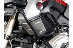 SW-Motech Acidente superior bar Black - BMW R 1200 GS (08 / 12) com Crashbar apenas