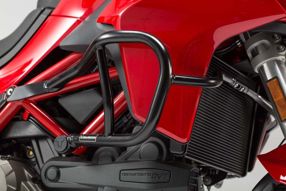 SW-Motech Crash bar Black - Ducati Multistrada 1200 (15-)