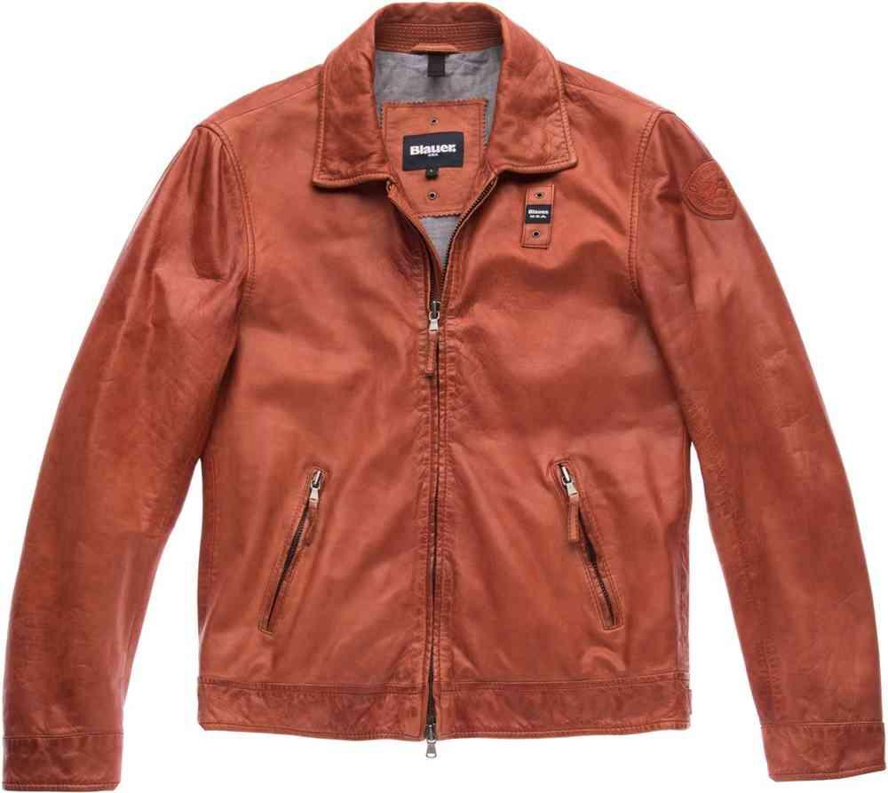 Blauer USA Jackson Leather Jacket