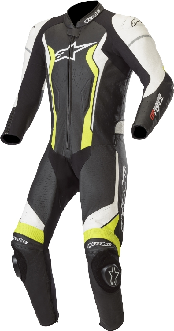 Alpinestars GP Force One Piece Motorcycle Leather Suit