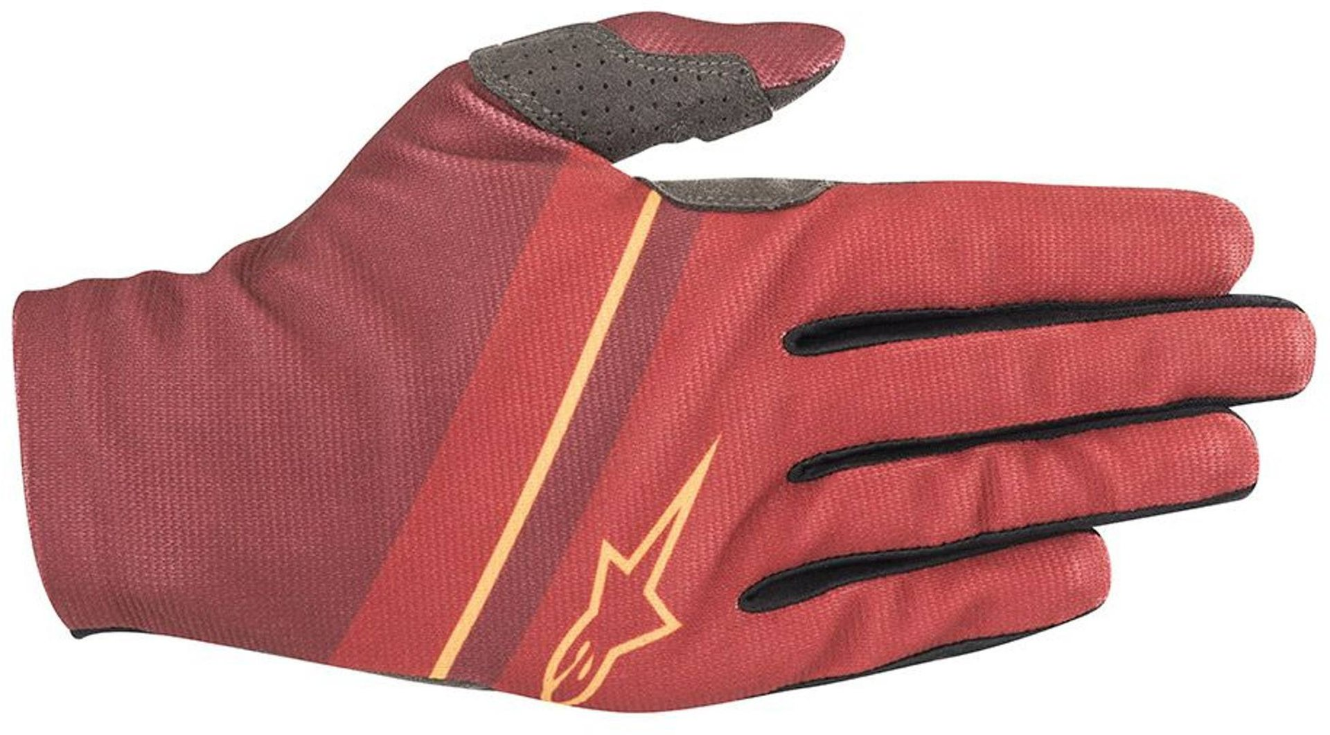 Alpinestars Aspen Plus Bicycle Gloves, red, Size L, red, Size L