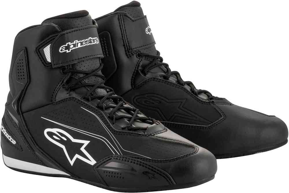 42 Black Alpinestars Faster 2 Short Casual Urban Motorcycle Boots//Shoes