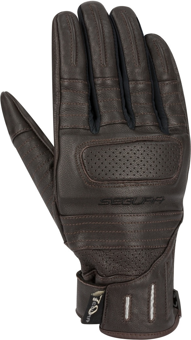 Segura Horson Motorcycle Gloves, brown, Size S, brown, Size S