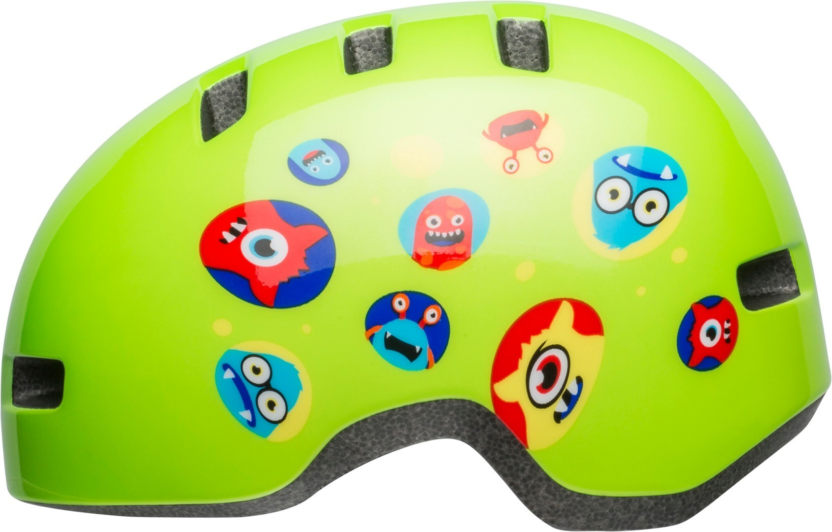 detailed images detailing online retailer Bell Lil Ripper Green Monster Toddler Bicycle Helmet - buy cheap ...