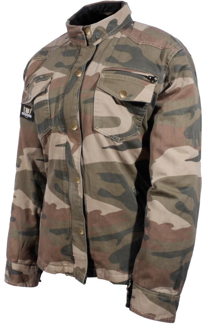 Bores Military Jack Camo Motorrad Hemd 020-0047S