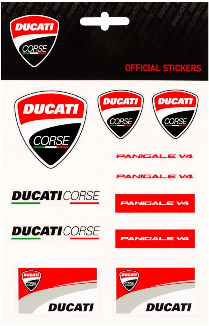 GP-Racing Ducati Medium Aufkleber Set 1956003-U