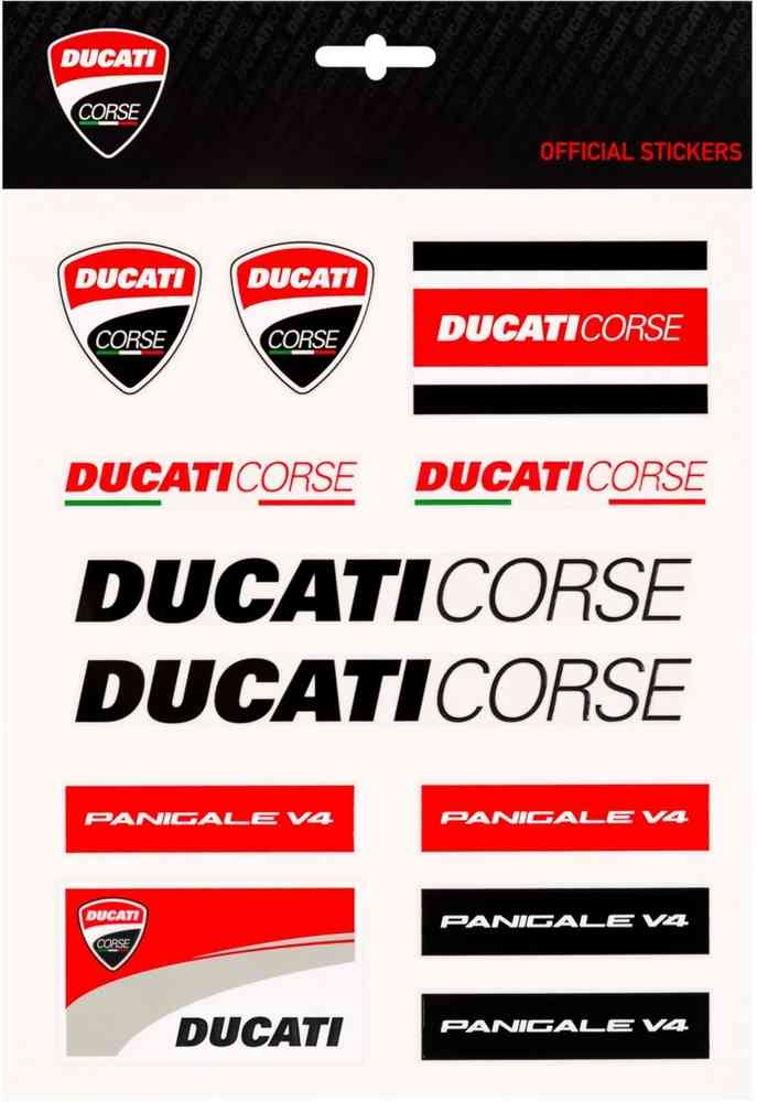 Big Ducati Aufkleber Gp Racing Set uTwkXOPZil