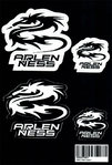Arlen Ness Dragon Aufkleber Set