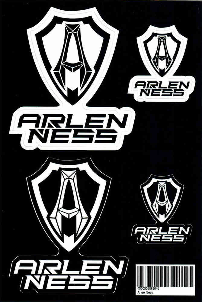 Arlen Ness Sticker Set