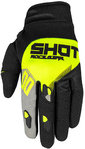 Shot Neon Contact Trust Motocross Handschuhe