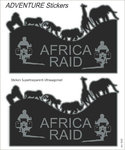 Booster Africa Raid Sticker set