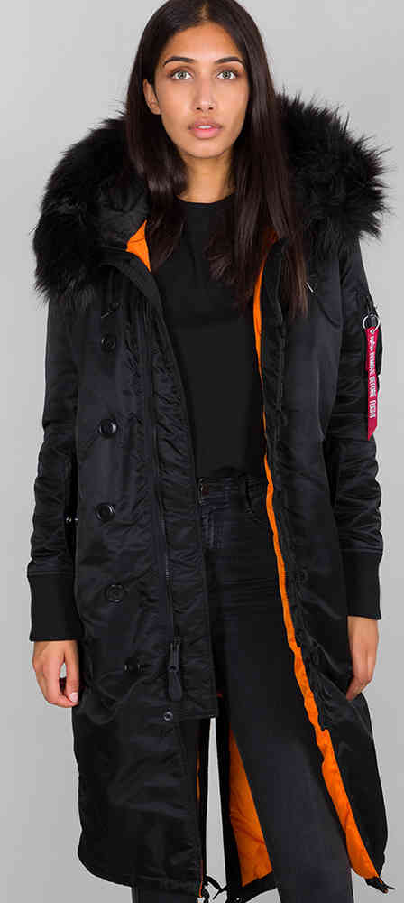 Industries Jacke Alpha Fishtail Damen Long qRL45A3jc