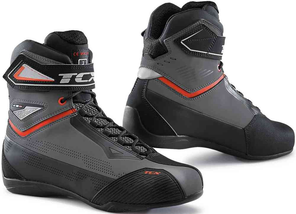 TCX Rush Moto Motorcycle Bike Waterproof Boots Black