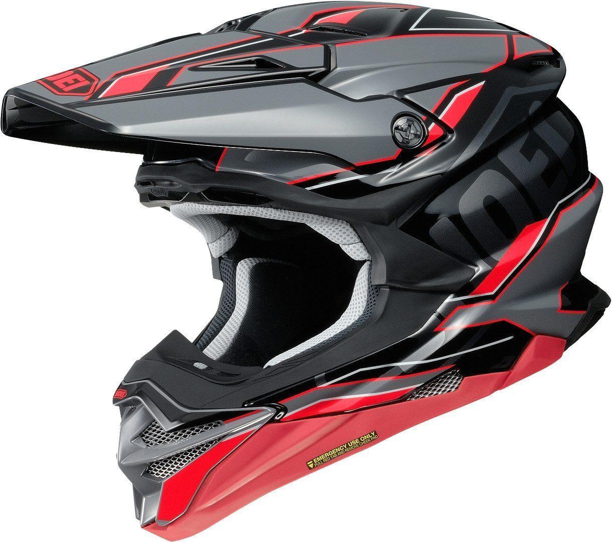 Shoei VFX-WR Allegiant Motocross Helm 14 08 110 3