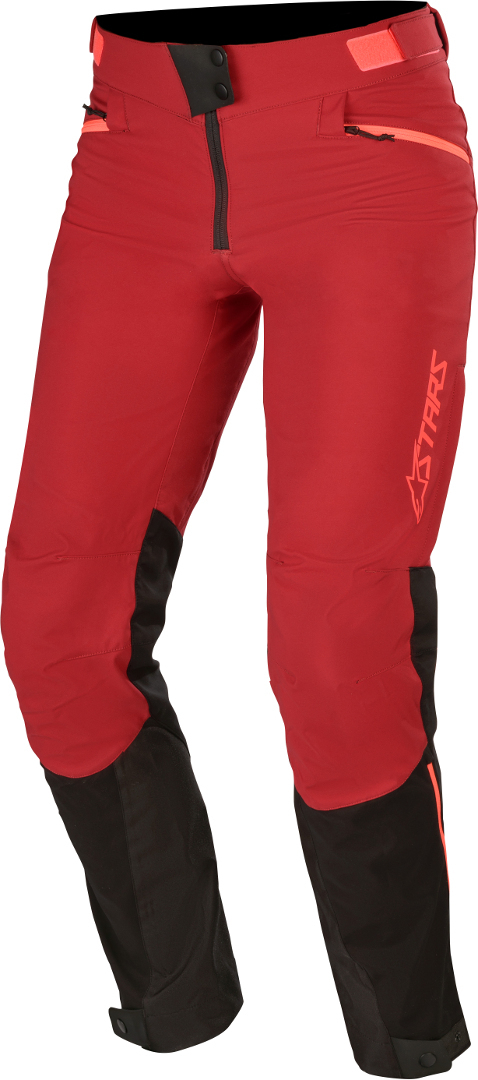 Alpinestars Stella Nevada Ladies Bicycle Pants, red, Size 26 for Women, red, Size 26 for Women