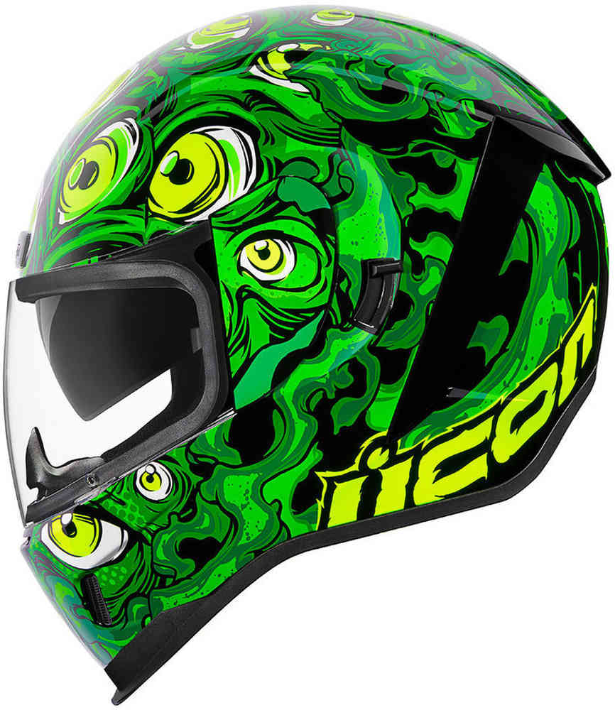 Icon Airform Illuminatus Full Face Street Motorcycle Helmet