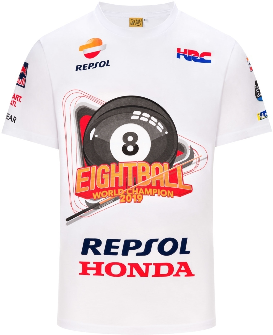 GP-Racing 93 Eightball World Champion T-Shirt 1933043-XXL