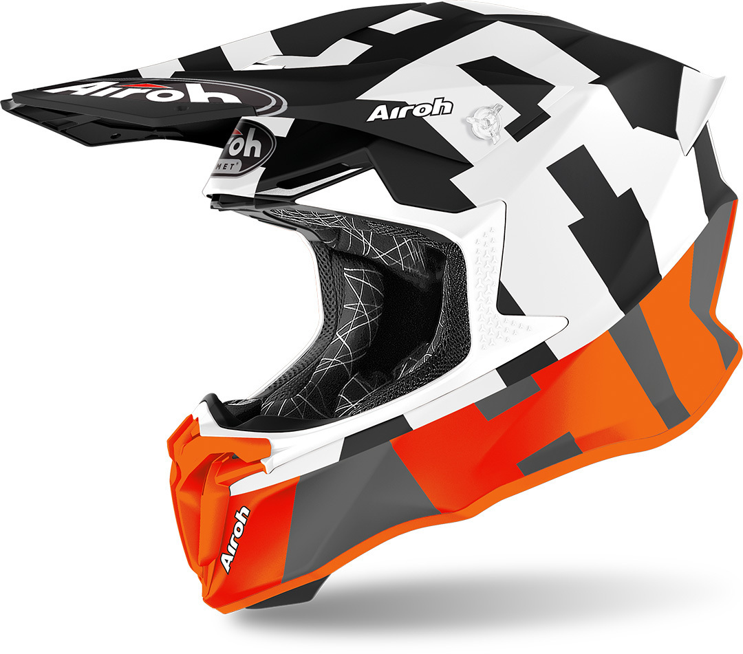 Airoh Twist 2.0 Frame Motocross Helm, orange, Größe M, orange, Größe M