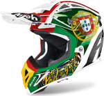 Airoh Aviator 2.3 Six Days Portugal Limited Edition Casco de Motocross