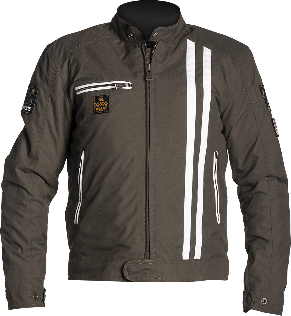 Helstons Cobra Motorcycle Textile Jacket, brown, Size M, brown, Size M