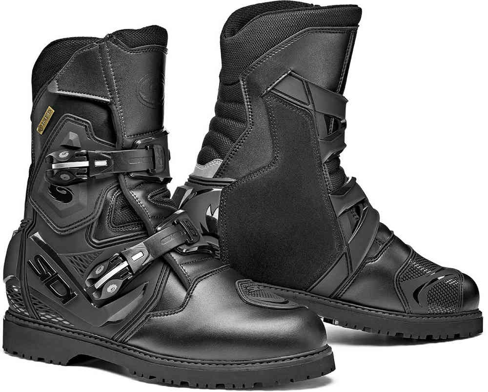 Black Size 42 Sidi Adventure 2 Gore-Tex Motorcycle Boot