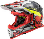 LS2 MX437 Fast Evo Crusher Motocross Helm