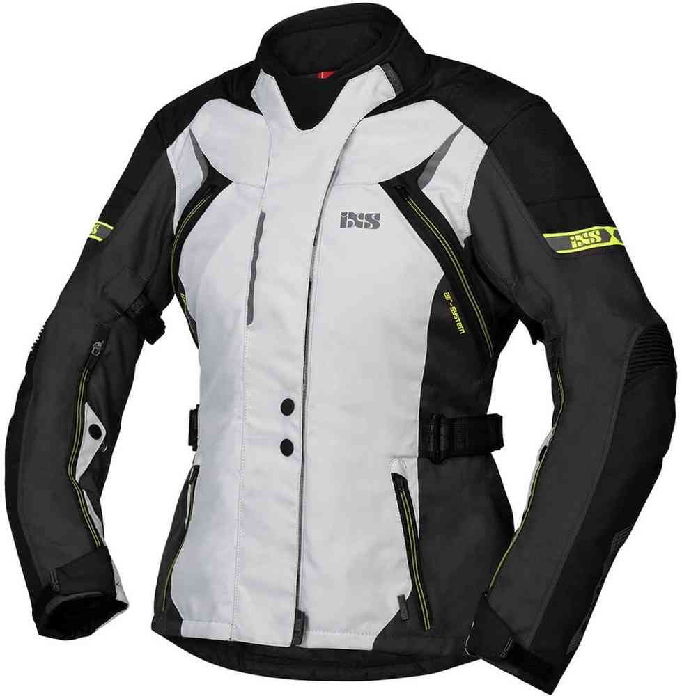 Urban Leather UR-159 Womens Motorcycle Jacket with Protective Padding Black 5XL
