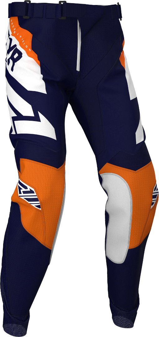 FXR Podium Motocross Hose, blau-orange, Größe 30, blau-orange, Größe 30