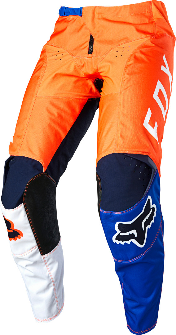 FOX 180 Lovl Motocross Hose, blau-orange, Größe 32, blau-orange, Größe 32