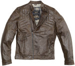 Black-Cafe London Philadelphia Motorcycle Leather Jacket