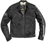 Black-Cafe London Shanghai Motorrad Lederjacke