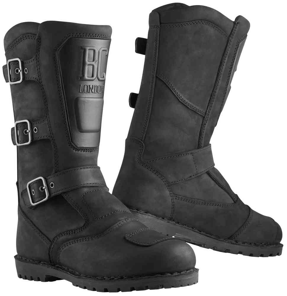 Black-Cafe London Cruiser-X Motorcycle Boots