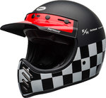 Bell Moto-3 Fasthouse Checkers Trial Kask