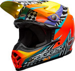 Bell Moto-9 Mips Tagger Breakout Casque Motocross