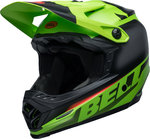 Bell Moto-9 Mips Glory Infrared Jugend Motocross Helm