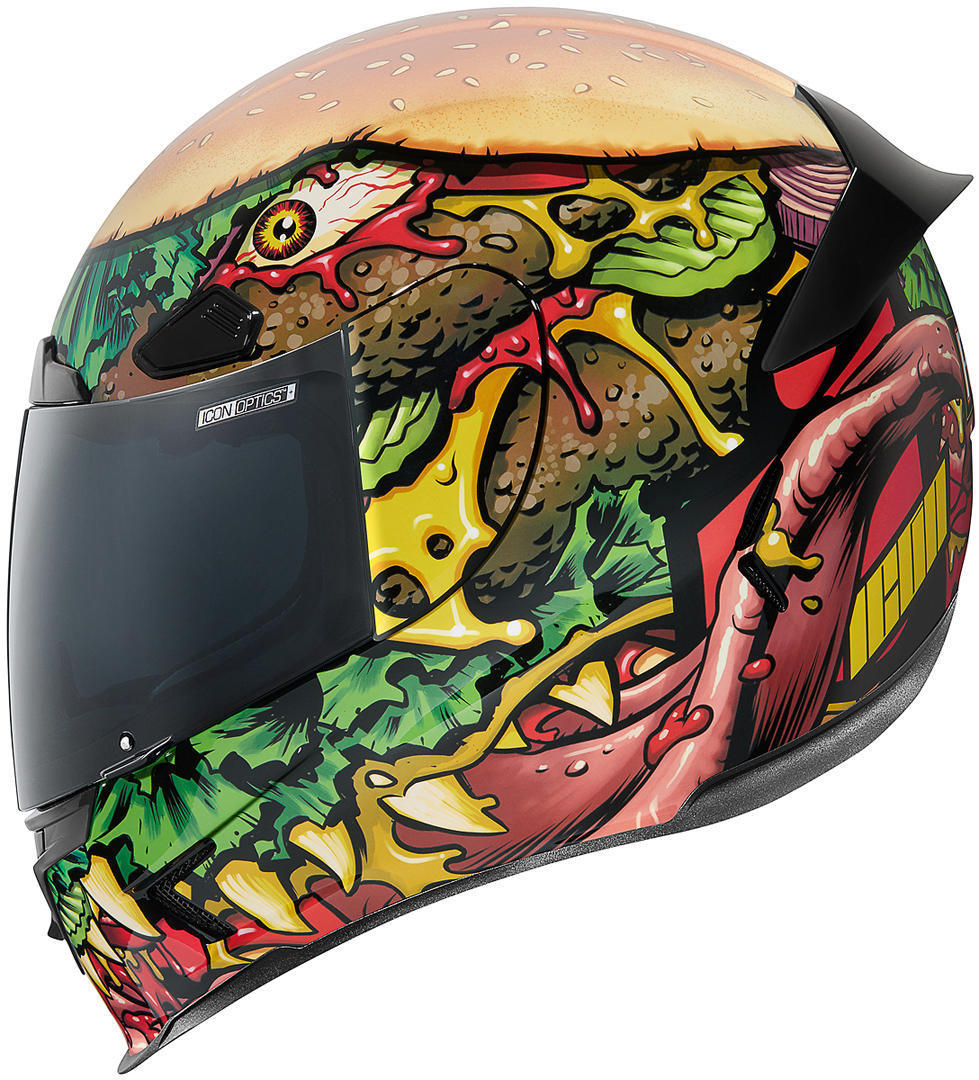 Icon Airframe Pro Fastfood Helm, mehrfarbig, Größe 3XL, mehrfarbig, Größe 3XL