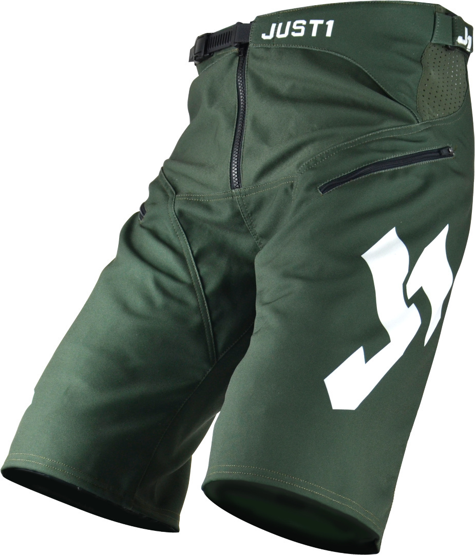 Just1 J-Flex Bicycle Shorts, green, Size 28, green, Size 28