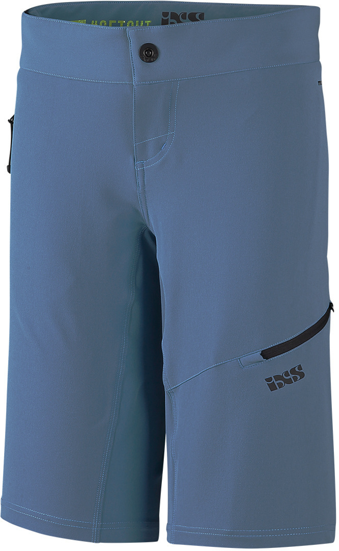 IXS Carve Evo Ladies Bicycle Shorts, blue, Size 40 for Women, blue, Size 40 for Women