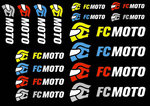 FC-Moto Logo Sticker Set