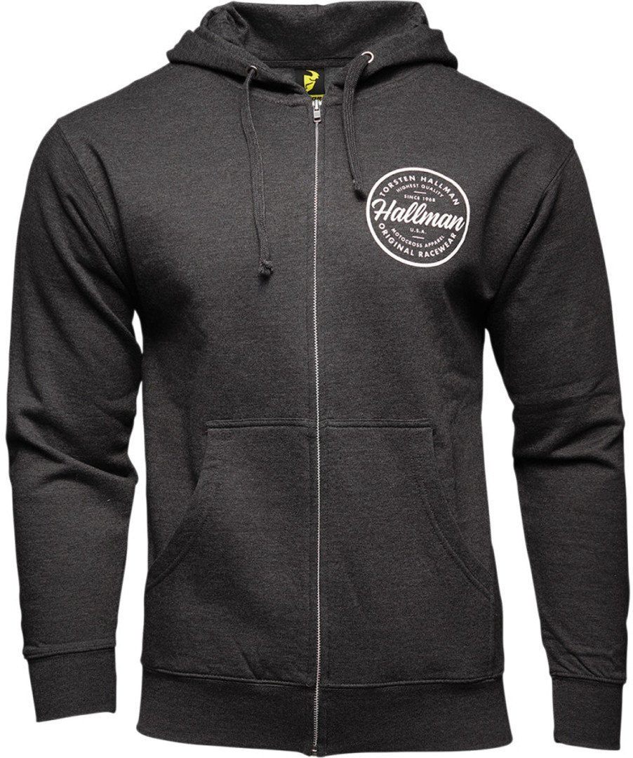 Thor Hallman Collection Traditions Zip-Up Pullover, grau, Größe XL, grau, Größe XL