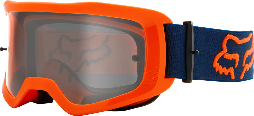 FOX Main Stray Motocross Brille, orange, orange