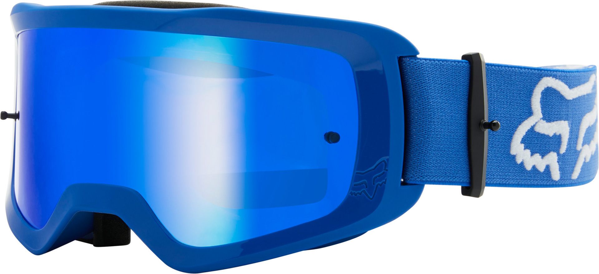 FOX Main Stray Spark Motocross Brille, blau, blau